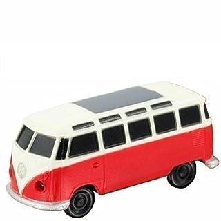 Volkswagen VW Camper Van 21962in Red LED Light Key Ring
