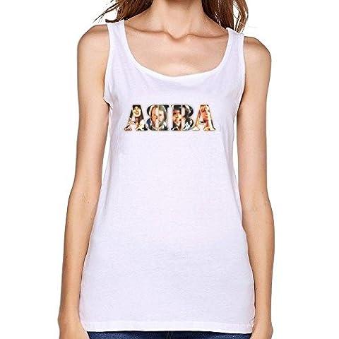 Damen's ABBA Group Logo Tank Top Medium