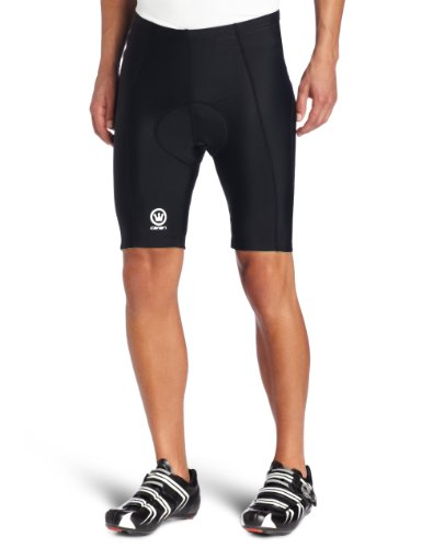 Canari Herren Velo Gel Cycling Short Schwarz, X-Large (Bike Shorts Canari)