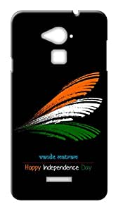 Mott2 Back Case for Coolpad Note 3 | Coolpad Note 3Back Cover | Coolpad Note 3 Back Case - Printed Designer Hard Plastic Case - Independence Day theme
