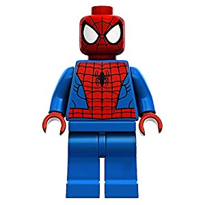 LEGO Super Heroes: Spiderman (Negro Web Pattern) Minifigura 4
