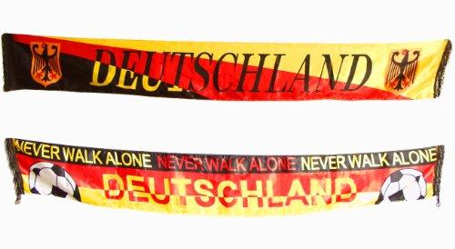 Brubaker–Doble pack bufanda–Pañuelo de Alemania en con aspecto de satén