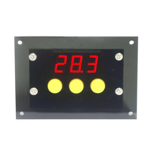 DROK® Digitale Thermostat -50-110 ℃ Temperaturregler Kühlung / Heizung Automatic Switch 220V AC