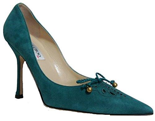 Jimmy Choo Emerald Green - Zapatos de vestir para mujer verde Emerald Green 40 (7 UK)