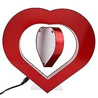 Descrizione:Questa romantica cornice magnetica a levitazione è un perfetto design a forma di cuore per dimostrare le meraviglie ei misteri dell'elettromagnetismo.Anche il miglior regalo di nozze per gli amici.Caratteristiche:Bella decorazione...