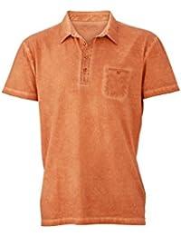 JN988 Mens Gipsy Polo Herren Poloshirt Polohemd James & Nicholson