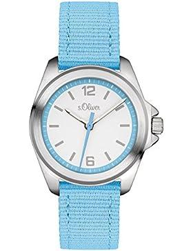 s.Oliver Unisex-Armbanduhr Analog Quarz Textil SO-3233-LQ