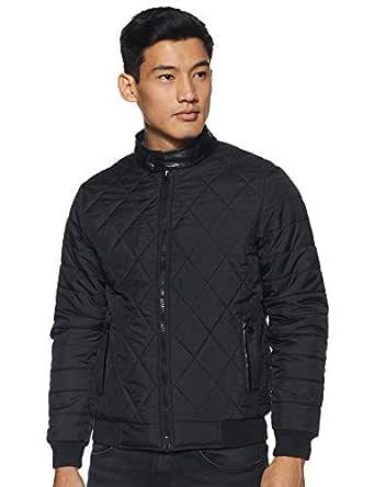 Qube By Fort Collins Men's Jacket (11115AZ_Black_M)