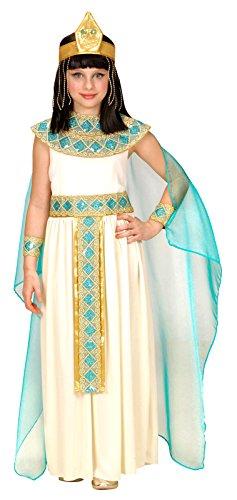 Widmann 49425 Kinderkostüm Cleopatra, Kleid mit Gürtel, Armbänder, Stirnband und (Kostüme Cleopatra White)