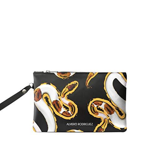 5b8ef1efaa Alviero rodriguez pochette donna uomo shame serpenti bianco snakes in vera  pelle jpg 500x500 Alviero rodriguez