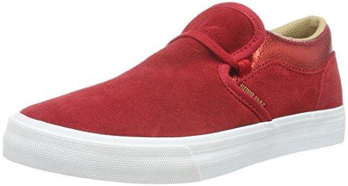Apodrecer Sneakers 602 Supra Branco Damen Cuba vermelho pAq0nF0W
