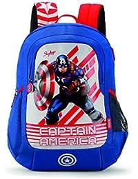 Skybags SBMarvelChamp 06 18 Ltrs Blue Casual Backpack  (SBMRC06EBLU)