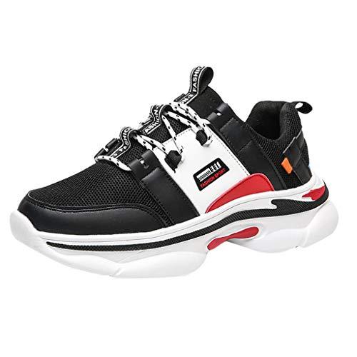 Sunnywill Scarpe da Corsa da Uomo Traspiranti di Grandi Dimensioni con Piattaforma Traspirante Scarpe da Ginnastica abbinate Autunnali nscarpe Sportive Scarpe da Fiume Scarpe da guadare