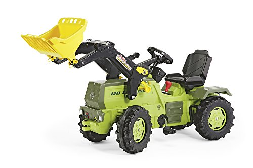 *Rolly Toys 046690 Kindertraktor MB Trac 1500 rollyTrac Lader m. Schaltung u. Bremse*