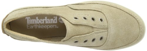 Timberland Earthkeepers Casco Bay Laceless Slip On, Baskets mode femme Beige (Beige)