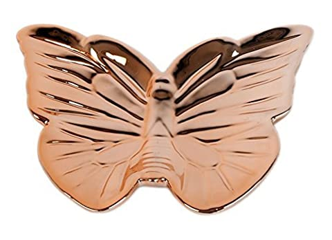 Gorgeous Copper Colour Butterfly Trinket Tray Jewellery
