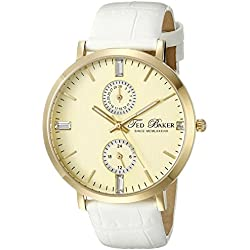 Ted Baker Watches Ladies White Gold Watch