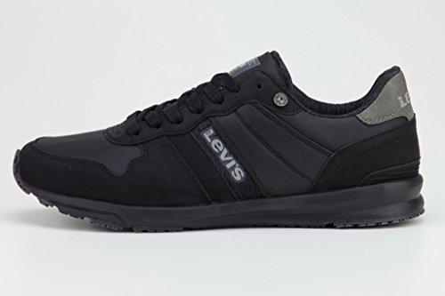 Levi's Schuhe Sneaker Baylor Brilliant Black 227240-1920-60 W18-LVSS Größe 43