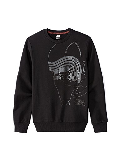 Celio Herren Sweatshirt Star Wars Noir (Black)