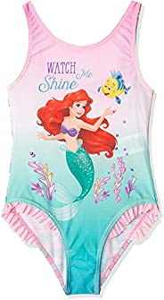The Little Mermaid Niñas Traje De Baño Una Pieza