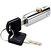 Homyl 44mm Briefkastenschloss Schrankschloss Schubladen Schloss mit 2 Schlüssel