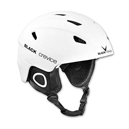 Black Crevice Unisex-Erwachsene Skihelm Kitzbühel weiß M