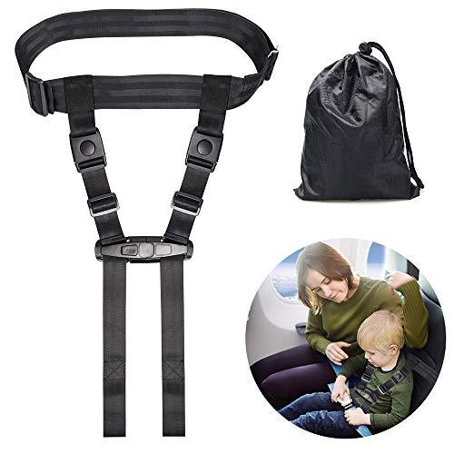 Flugzeug Sicherheitsgurt für Kinder, Kinder Reise-Sicherheitsgeschirr, Flugzeuggurt, sorgt für Sicherheits-Rückhaltesystem für Baby, Kleinkinder, Kinder