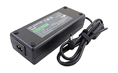 amsahr SN19.5V5.13A100W-02 Ersatz AC Power Adapter für Sony 19.5V, 5.13A, 100W, PCGA AC19V7/19V7, AC19V4/19V4 schwarz