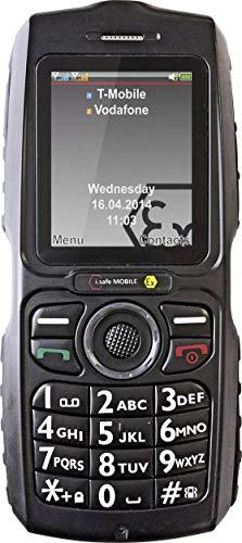 Safe Mobile (i.safe MOBILE Challenger 2.0 Ex-geschütztes Handy für ATEX Zone 2/22, 5.1cm (2 Zoll) IP68, Wasserd)