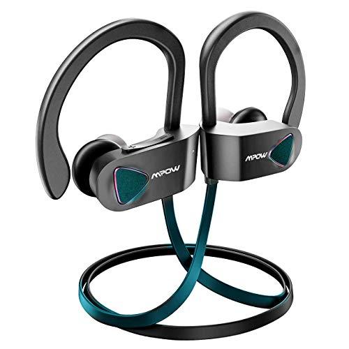 Mpow Flame Bluetooth Kopfhörer, IPX7 Wasserdicht Kopfhörer Sport, 7-10 Stunden Spielzeit/Bass Technologie, Sportkopfhörer Joggen/Laufen Bluetooth 4.1, In Ear Kopfhörer mit Mikrofon für iPhone Android*