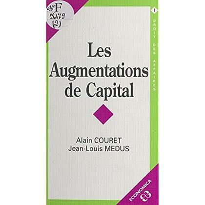Les Augmentations de capital (Droit-poche)