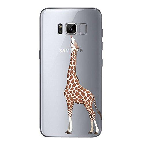 IPHONE SE 5 5S Hülle Weich Silikon TPU Schutzhülle Ultradünnen Case für iPhone 5 /5S/SE Schutz Hülle Giraffe