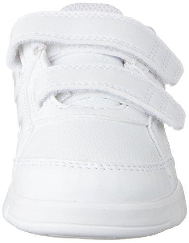 adidas Altasport Cf, Baskets Garçon Multicolore (Ftwr White/ftwr White/clear Grey S12)