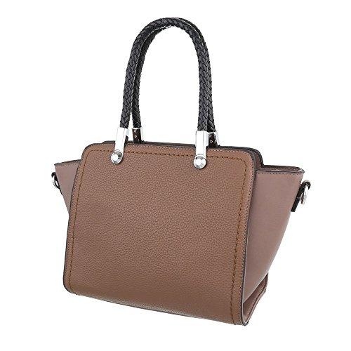 Taschen Handtasche Hellbraun