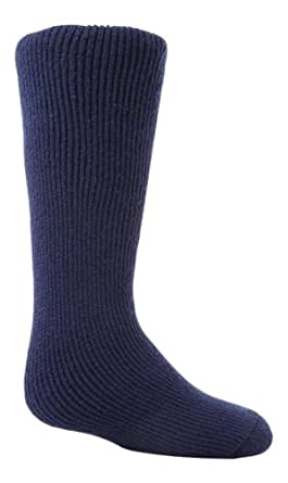 Childrens Heat Holders The Ultimate Thermal Sock Size 2-5 Deep Blue