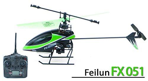 *efaso FX051 – Helikopter Feilun 4-Kanal 2.4 GHz Single-Rotor Hubschrauber – klein und wendig, RTF*