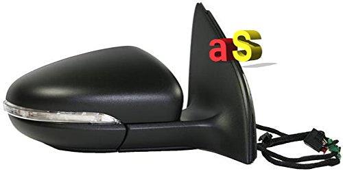 FORD FIESTA aile rétroviseur côté conducteur noir 02-08 Mk5