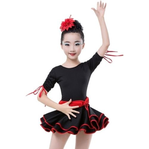 0601aa129a2e Children s Dance Dress Ballet Latin Rumba Samba Dress Skirts ...
