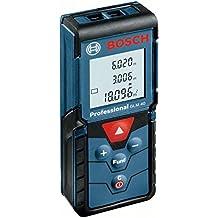 Bosch GLM 40 - Medidor Laser de distancias, color azul, negro y rojo