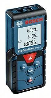 Bosch Professional GLM 40 - Medidor láser de distancias (alcance 40 m, función pitágoras, con funda) (B00R0Z7TFM) | Amazon Products