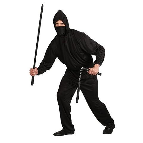 Déguisement costume Homme - Ninja Noir - Taille : XL