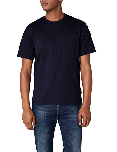 Trigema Herren T-Shirt aus Baumwolle 637202, Navy, XL (Heiße T-shirt Frauen)