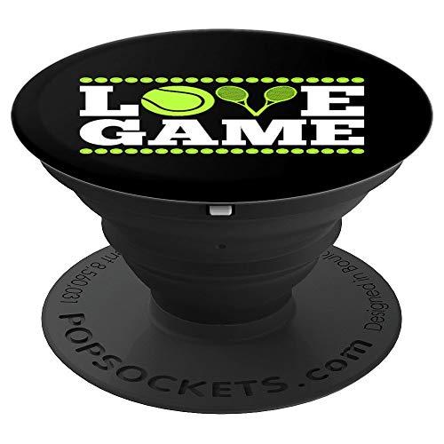 Love Game Tennisball Tennisschläger Tennis - PopSockets Ausziehbarer Sockel und Griff für Smartphones und Tablets