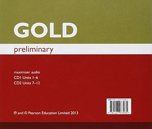 Gold Preliminary Maximiser Class Audio CDs