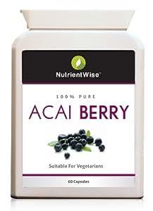 baie d'acai detox Acai Berry maigrir facile et bio 100% extrait d'acai|Coupe Faim Maigrir Pilule Regime Comprimés Regime Gelules