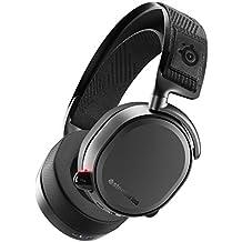 SteelSeries Arctis Pro Wireless - Casque Gaming sans fil - Pilotes d'enceintes haute résolution - Sans fil double (2,4 G & Bluetooth)-Noir