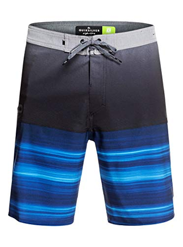 Quiksilver Highline Hold Down Board Short, Hombre, Electric Royal, 32