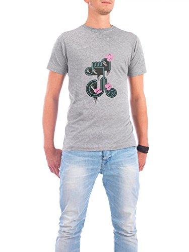 """Design T-Shirt Männer Continental Cotton """"»J«"""" - stylisches Shirt Typografie von Marius Rehmet Grau"""