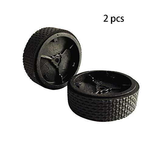 INGHU Lenkrolle 2 STÜCKE Werkzeug Liefert Teile Mini Durable Rubber Appliance Zubehör Wischroboter Einfach zu Verwenden Ersatzreifen Hause für ibot Braava 380