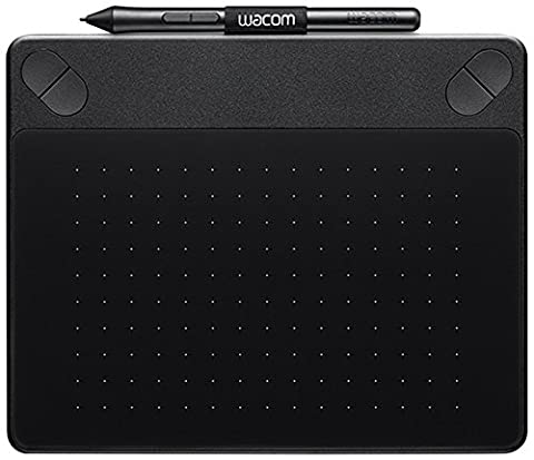 Wacom CTH-490CK-S Intuos Comic Stift-Tablett (Touch S inklusive Softwaredownload von Clip Studio Paint PRO und Anime Studio) schwarz